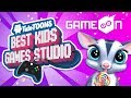 TutoTOONS at GameOn! DIY Arcade, Cute Pins & Funny Stickers | TutoTOONS Cartoons & Games for Kids