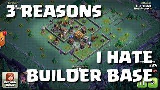 WHY I DON'T PLAY BUILDER BASE - REPLAYS INSIDE - ARRRGGGHHHHH | Mister Clash