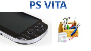 PS Vita Error C3-13340-1 Fix