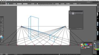 How To Draw A 2 Point Perspective Grid