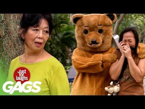 A Proper Bear Scare - JFL Gags Asia Edition
