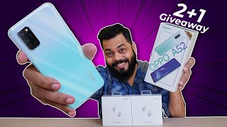 OPPO A52 Unboxing & First Impressions (3x Giveaway) ⚡⚡⚡Stereo Speakers, ColorOS 7.1 & More