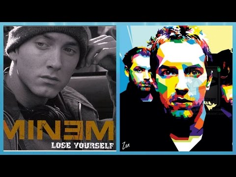 Lose Yourself in Paradise Eminem ft Coldplay Mashup Music