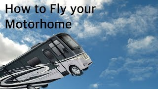 Flying our RV in Roswell NM
