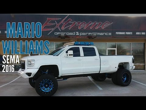 Mario Williams GMC Dually by Extreme Offroad Katy Tx. - SEMA 2015