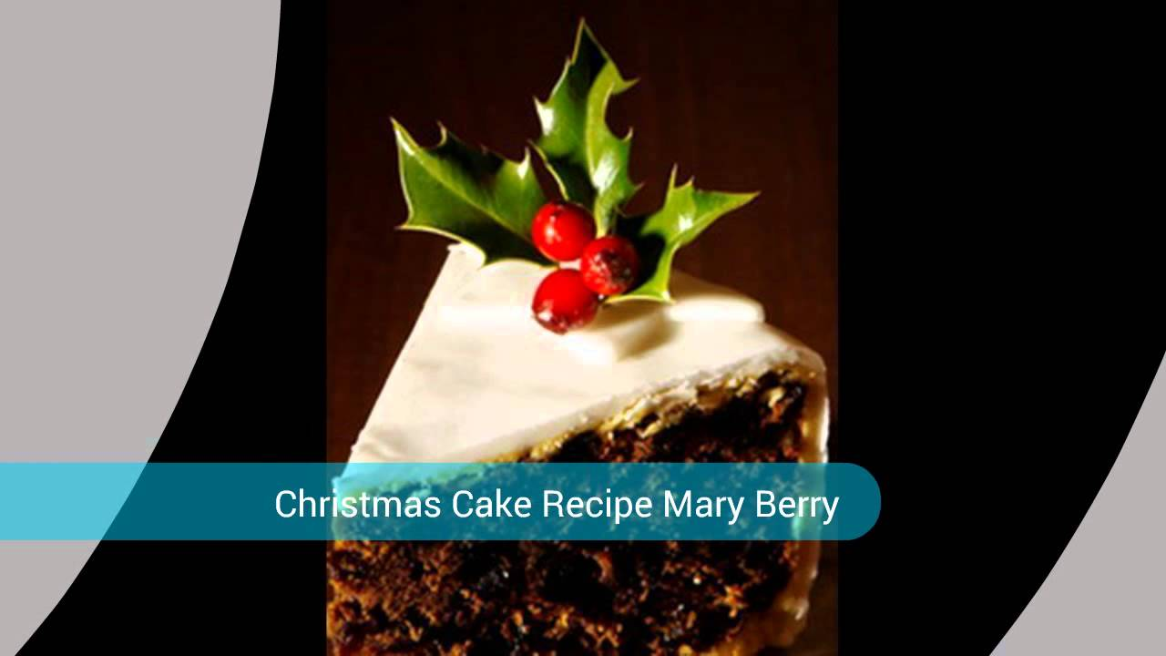 Mary Berry Christmas Cake Youtube