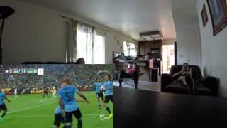 Mexico vs Uruguay Reacción Reaction 2016 Copa America Centenario