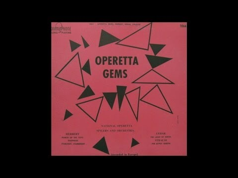 National Operetta Singers And Orchestra: Operetta Gems (Gramophone Records)