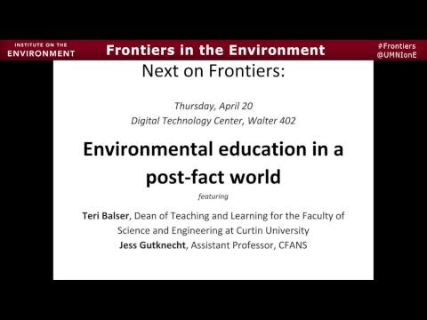 Breaking boundaries in sustainability education