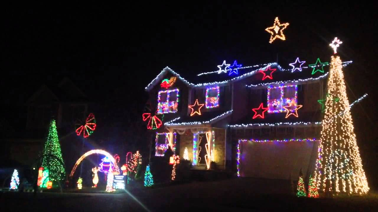 2014 christmas lights georgetown kentucky