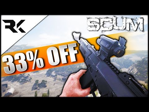 SCUM - 33% Off!! Let's Explore The New Update & The Locations!