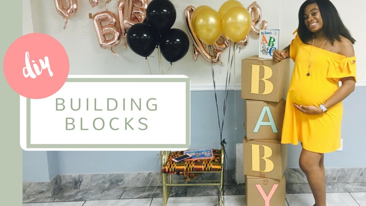 Diy Baby Building Blocks
