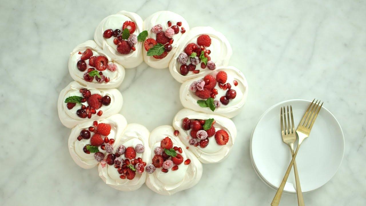 Pavlova Wreath Everyday Food With Sarah Carey