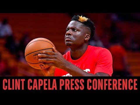 Clint Capela press conference: Atlanta Hawks introduce new center