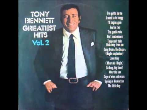 TONY BENNETT: I've Gotta Be Me