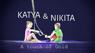 Katya and Nikita - A Touch of Gold - Aerial Artists