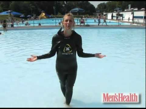 The Secret to Swimming Faster - Men's Health Minute