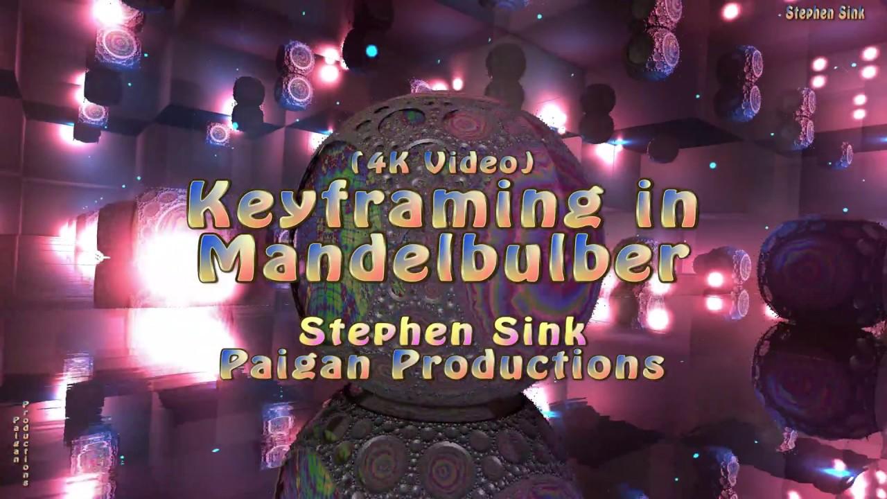 Keyframing in Mandelbulber Tutorial
