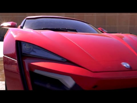 "FAST and FURIOUS 7 ""The Lykan Hypersport"""