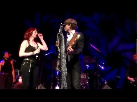 Michael Grimm and his wife Lucie Islands In The Stream at Red Rock Resort 3/9/13