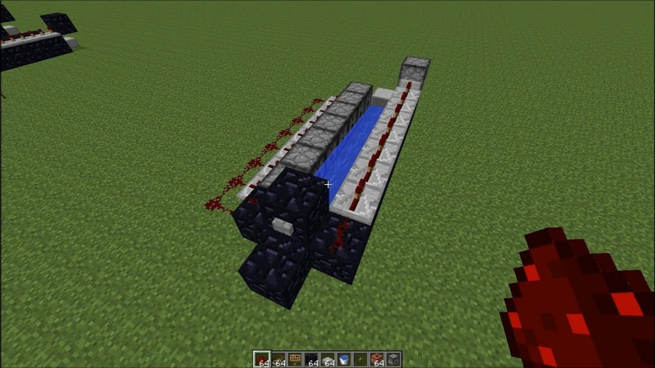 Minecraft - TNT Cannon Tutorial v2 [Dispensers] [Automatic ... Barrel Minecraft