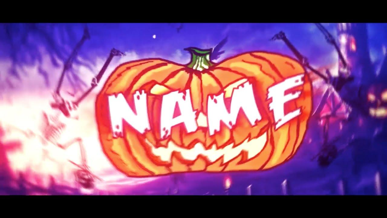 FREE Epic Halloween Intro Template #267 + Tutorial - YouTube