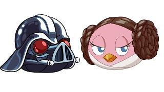 Обзор игры Angry Birds Star Wars (Злые Птички: Звездные Войны) Люк, я Твой Отец!
