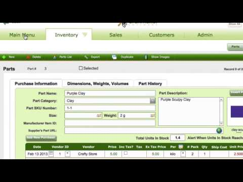 Managing craft inventory alerts in Craft Maker Pro