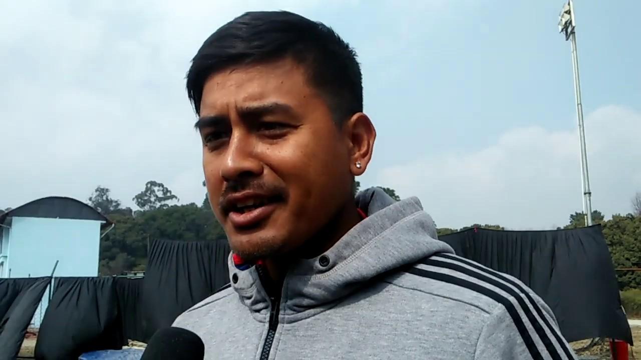 Gyanendra Malla - नेपालको जित पक्का छ - Nepalese cricketer team current captain.