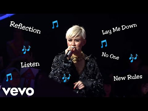 AGNEZ MO BEST VOCAL || Listen, Lay Me Down, Roar, Reflection, No One, Etc || The Voice Edition