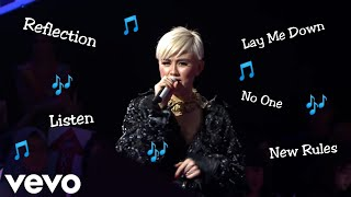 AGNEZ MO BEST VOCAL || Listen, Lay Me Down, Roar, Reflection, No One, Etc || The Voice Edition