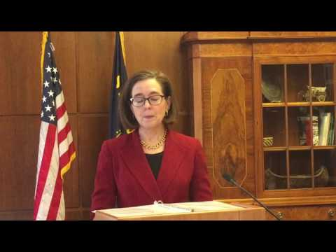 Oregon governor explains her executive order on immigration