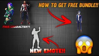 HOW TO GET FREE EMOTE IN GARENA FREE FIRE 100% WORKING