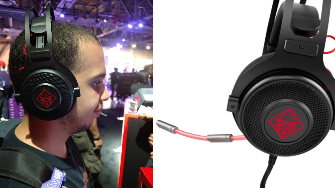 081328572b3 OMEN by HP Wired Gaming Headset 800 [First Impressions] - YouTube