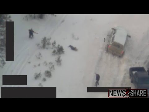 FBI Footage: Bundy Standoff Shooting in Oregon