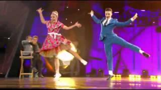 tnt dance show Anna Tihaya & Anton Panufnik (jive)