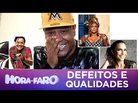 Vocalista do Psirico revela defeitos e qualidades de Ivete Sangalo e Preta Gil