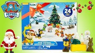 Calendrier de l'Avent 2018 Pat' Patrouille Noel Paw Patrol Advent Calendar Holidays AdventsKalender