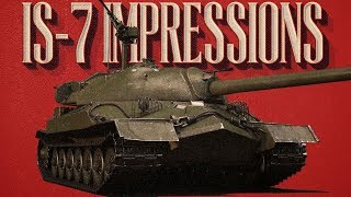 IS-7 First Impressions and RB Gameplay - War Thunder