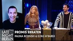 Palina Rojinski & Elyas M'Barek raten Promis | Late Night Berlin | ProSieben