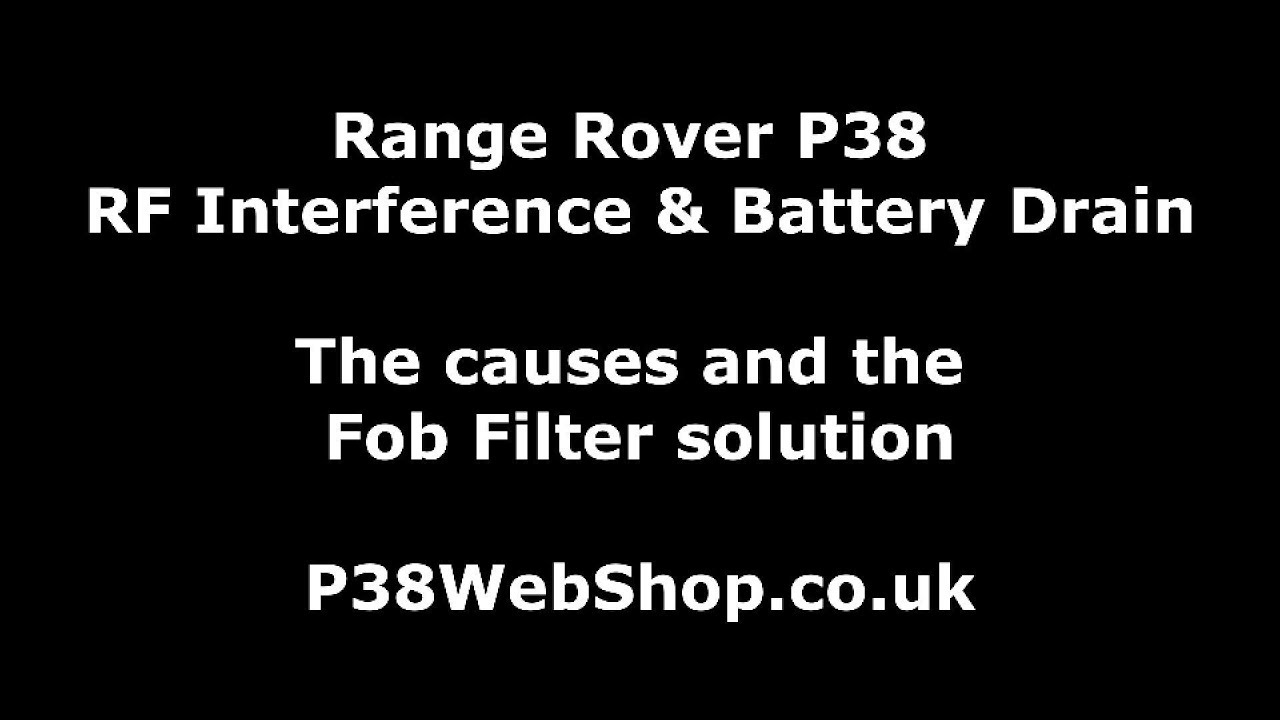 Battery Drain - the cause of and solution to  - Electronics - Fix My P38