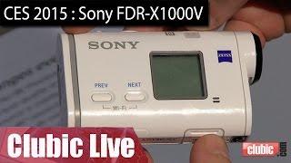 CES 2015 : Sony dévoile une Action Cam qui filme en 4K