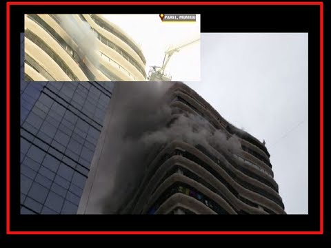 Mumbai: Fire at Parel's Crystal Tower, several trapped inside
