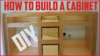 How To Build A Cabinet | DIY Project