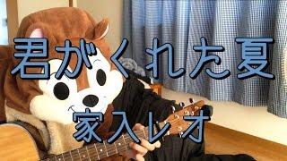 「家入レオ」さんの「君がくれた夏」を弾き語り用にギター演奏したコー...