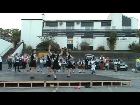 Choreographed dance to  Dance above the Rainbow Ullapool