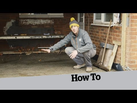 How to build the floor of an extension; How to Build an Extension (8)