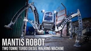 Mantis - Hexapod Walking Machine Tests 2012