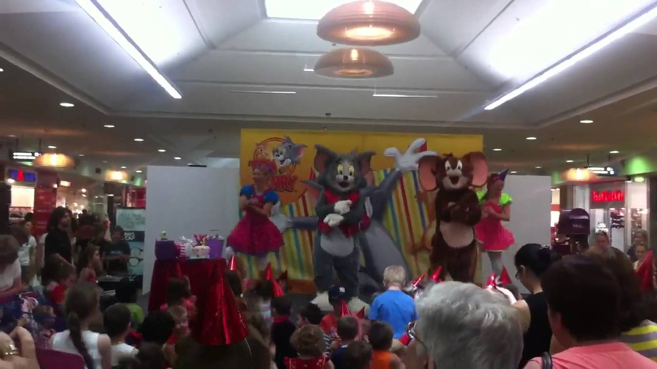 Tom and Jerry Toms Surprise Birthday Party YouTube