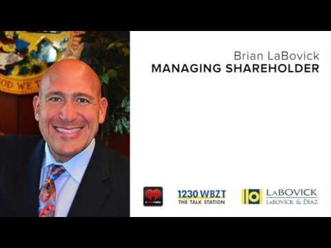 Brian LaBovick's Auto Insurance Radio Interview On 1230 WBZT | Auto Accident Attorney